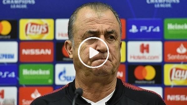 'Fatih Terim'in PSG maçı sonrası açıklamaları