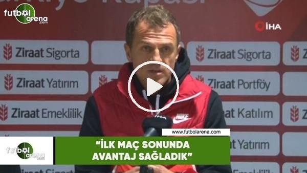 """'Stjepan Tomas: """"İlk maç sonunda avantaj sağladık"""""""