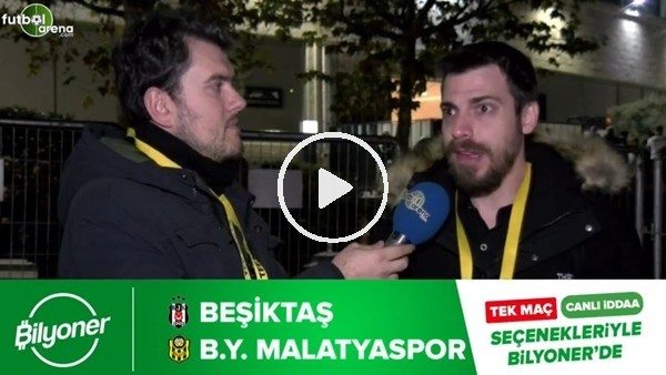 'Beşiktaş - Yeni Malatyaspor maçı Bilyoner'de!