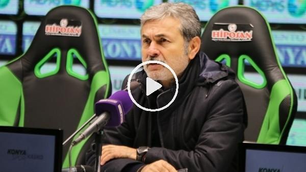 """Aykut Kocaman: """"Normal halimize biraz daha büründüğümüz bir maç oldu"""""""