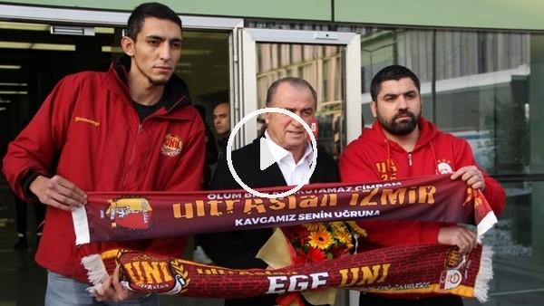 Galatasaray kafilesi İzmir'de