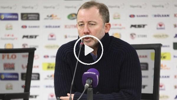 """'Sergen Yalçın: """"Maçtaki iki golü de biz attık"""""""