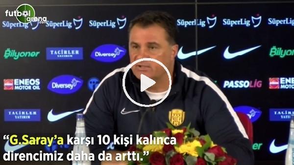 """'Mustafa Kaplan: """"Galatasaray'a karşı 10 kişi kalınca direncimiz daha da arttı"""""""