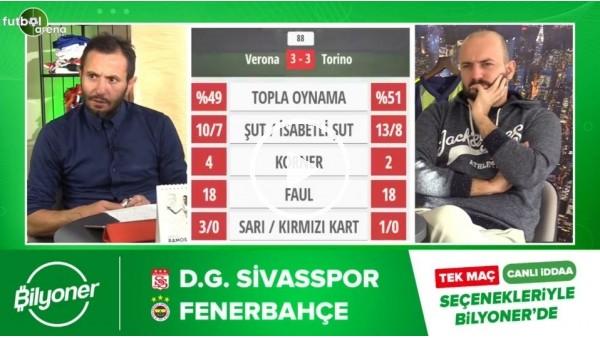 'Sivasspor - Fenerbahçe maçı Bilyoner'de!