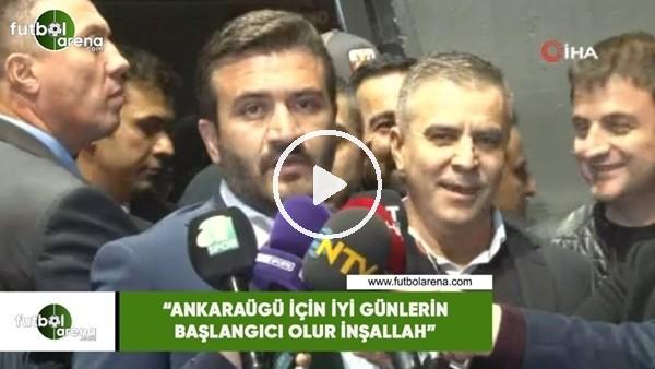 """'Fatih Mert: """"Ankaragücü için iyi günlerin başlangıcı olur inşallah"""""""
