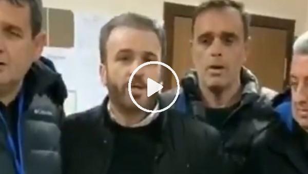 'Sakaryaspor Başkanı primi soyunma odasına getirdi
