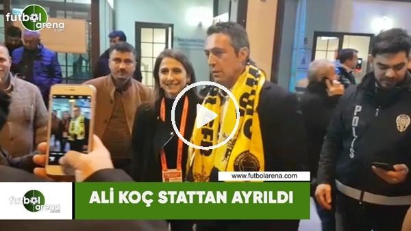 Ali Koç stattan ayrıldı