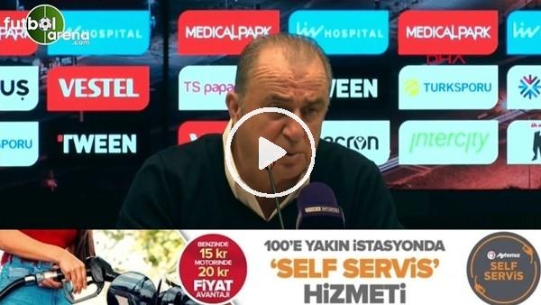 'Fatih Terim'den Trabzonspor'un UEFA rotasyonu hakkında açıklama