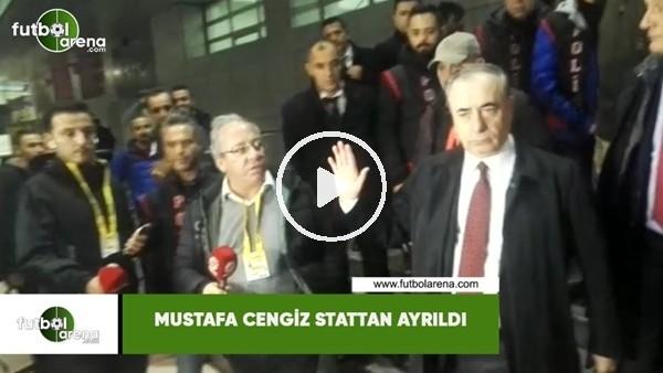 Mustafa Cengiz stattan ayrıldı