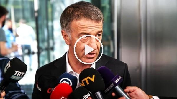 Trabzonspor'un yeni teknik direktörü kim olacak? Ahmet Ağaoğlu açıkladı..