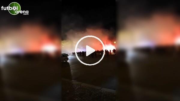 'PSG taraftarı, Galatasaray taraftarına saldırdı..