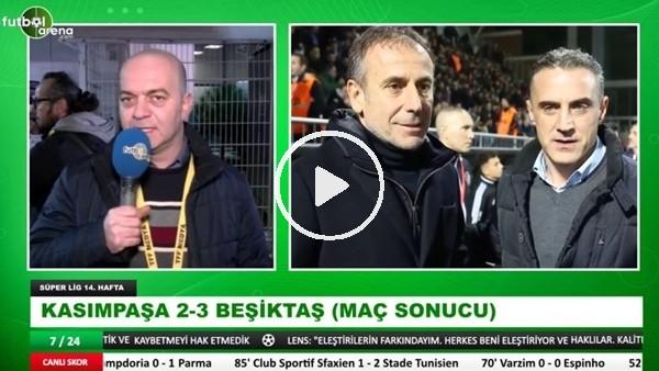 'Çağdağ Sevinç, Kasımpaşa - Beşiktaş maçından öne çıkan notlar aktardı