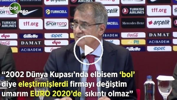"""Şenol Güneş: 2002 Dünya Kupası'nda elbisem 'bol' diye eleştirmişlerdi firmayı değiştim umarım EURO 2020'de sıkıntı olmaz"""""""