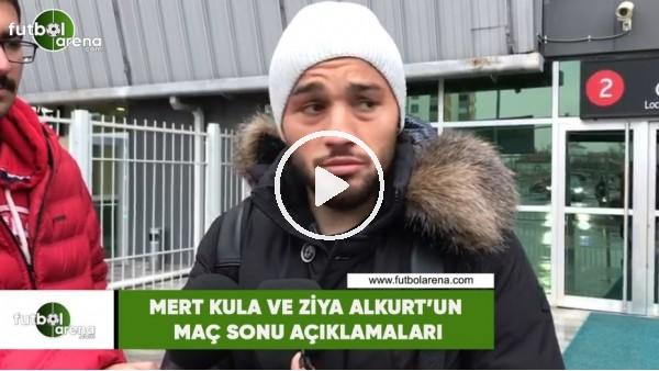 'Mert Kula ve Ziya Alkurt'un maç sonu açıklamaları