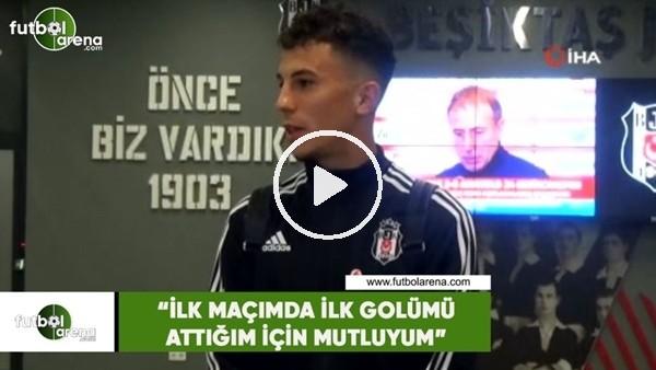 """'Erdoğan Kaya: """"İlk maçımda ilk golümü attığım için mutluyum"""""""