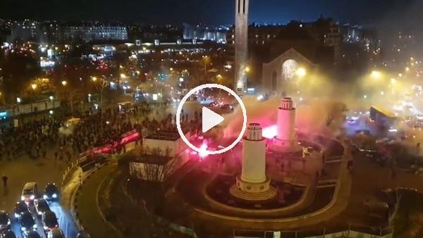 'PSG - Galatasaray maçı öncesi olaylar