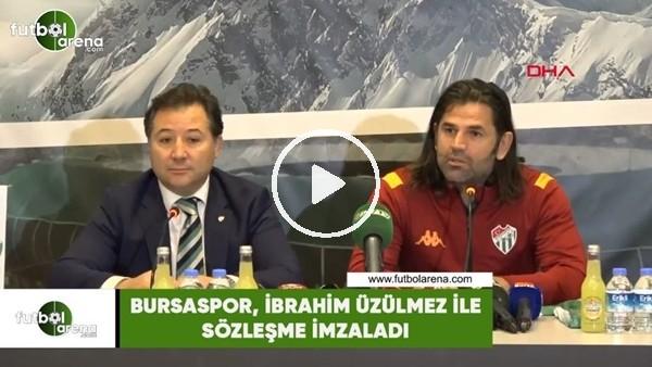 'Bursaspor, İbrahim Üzülmez ile sözleşme imzaladı