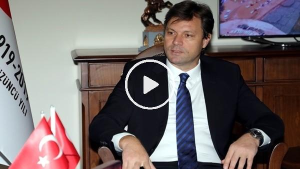 'Ertuğrul Sağlam'ın hayali Samsunspor ile şampiyonluk