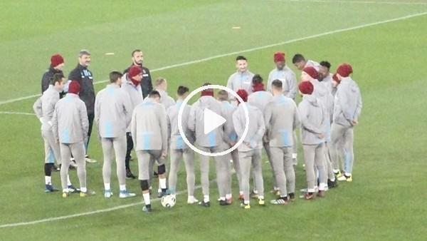 Trabzonspor, Basel maçı hazırlıklarını tamamladı