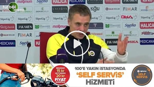 """'Ersun Yanal: """"Bugün belki farklı algılanabilir ama Fenerbahçe'nin büyüklüğü başka bir büyüklüktür"""""""