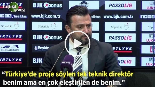 """'Bülent Uygun: """"Türkiye'de proje söyleyen tek teknik direktör benim ama en çok eleştirilen benim"""""""