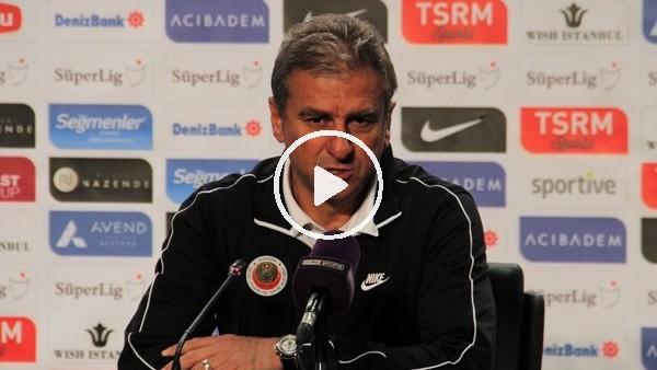 """'Hamza Hamzaoğlu: """"Fenerbahçe mağlubiyeti sonrası yarıda bıraktığımız çıkışı sürdürmemiz gerekiyordu"""""""