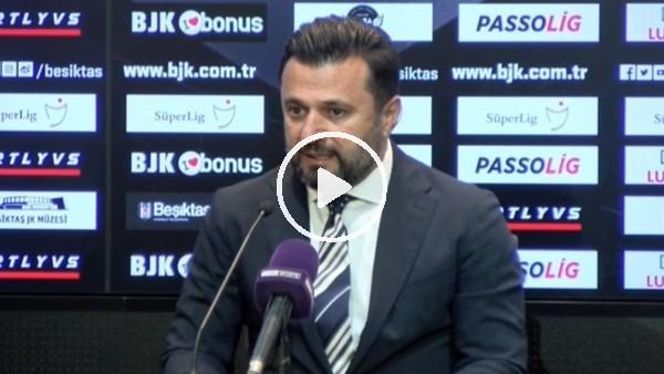 """'Bülent Uygun: """"Küçük düşünecek değilim hedefim Şampiyonlar Ligi kupası"""""""