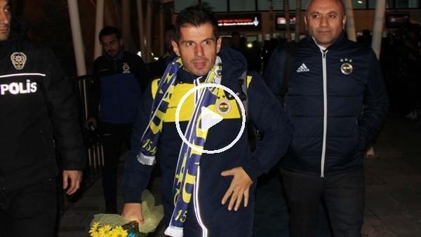 'Fenerbahçe kafilesi Sivas'a geldi