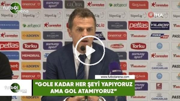 """'Stjepan Tomas: """"Gole kadar her şeyi yapıyoruz ama gol atamıyoruz"""""""