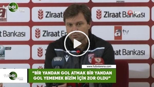 """'Ertuğrul Sağlam: """"Bir yandan gol atmak bir yandan gol yememek bizim için zor oldu"""""""