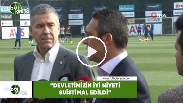 """'Ali Koç: """"Devletimizin iyi niyeti suistimal edildi"""""""