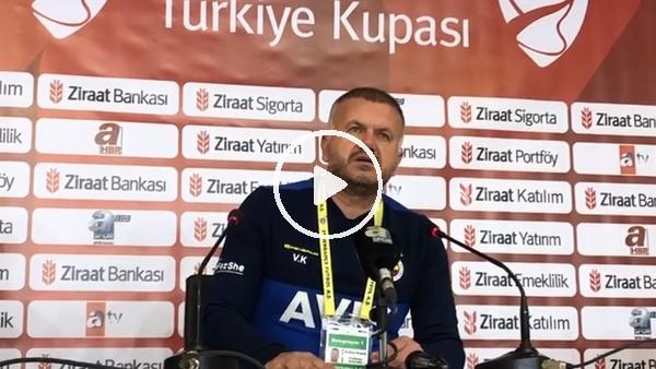 """'Fenerbahçe Yardımcı antrenörü Volkan Kazan: """"Gerekli çalışmaları yapıp yolumuza devam edeceğiz"""""""