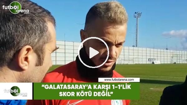 """'Boldrin: """"Galatasaray'a karşı 1-1'lik skor kötü değil"""""""