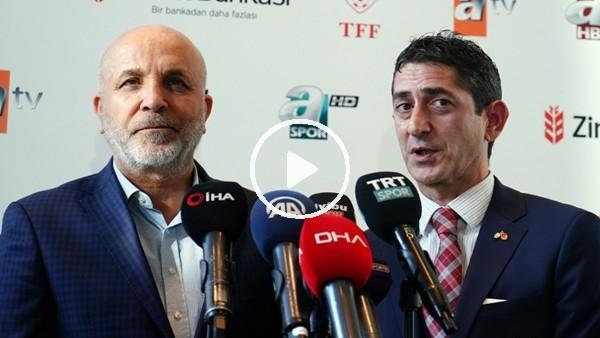 'Hasan Çavuşoğlu ve Şükrü Hanedar'ın kura çekimi sonrası açıklamaları