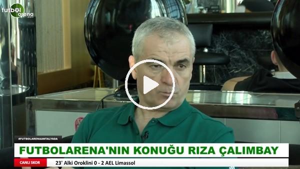 """Rıza Çalımbay: """"Ligin birincisi Sivasspor ikincisi Başakşehir ama biz ve Başakşehir hariç herkes 'biz şampiyon olacağız' diyor"""""""