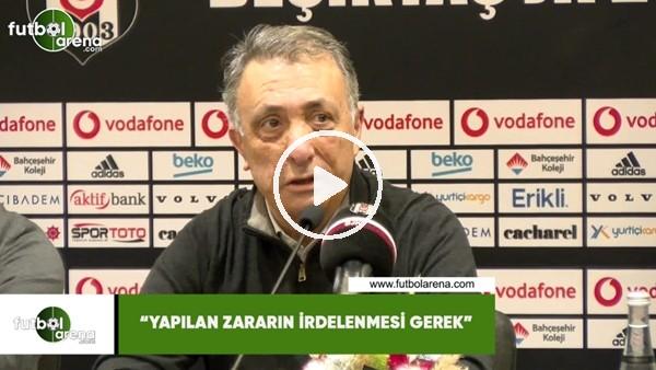 """'Ahmet Nur Çebi: """"Yapılan zararın irdelenmesi gerek"""""""