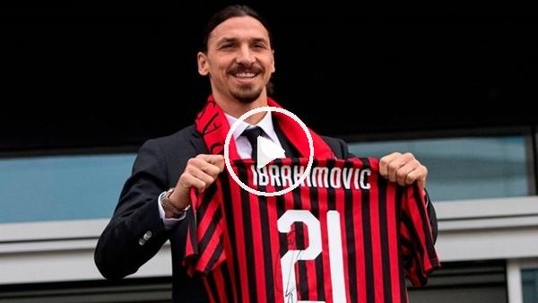 'Zlatan İbrahimovic yeniden Milan'da
