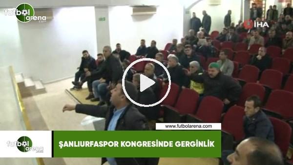 'Şanlıurfaspor kongresinde gerginlik