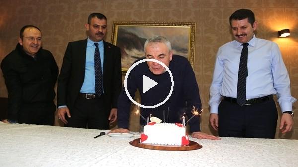 Rıza Çalımbay'a sürpriz doğum günü