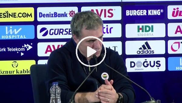 'Ersun Yanal, Trabzonspor maçı öncesi net konuştu!