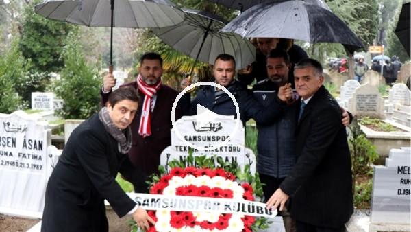 'Samsunspor, 31 yıl önceki kazada vefat eden teknik adam ve futbolcuları andı