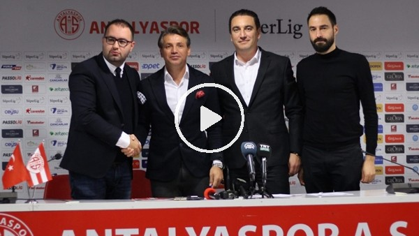 'Antalyaspor'da Tamer Tuna dönemi