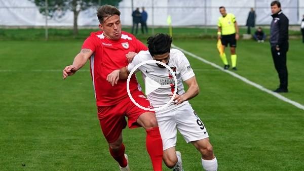 'Samsunspor, Vanspor'u hazırlık maçında 2-1 yendi