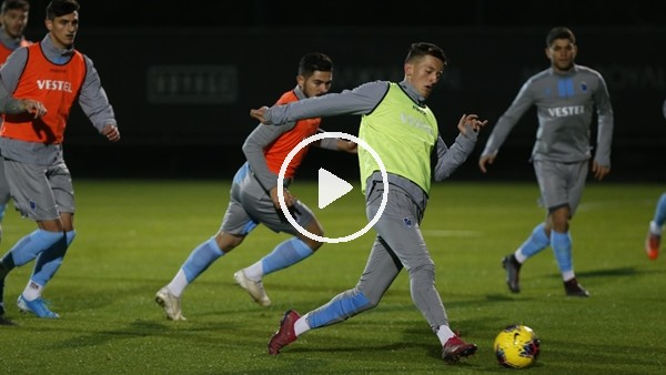 Trabzonspor Atrenmanı   FutbolArena Antalya Kampında