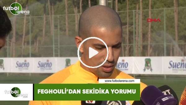 'Feghouli'den Sekidika yorumu
