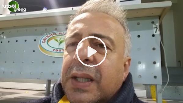'Çaykur Rizespor - Gençlebirliği maçından notlar