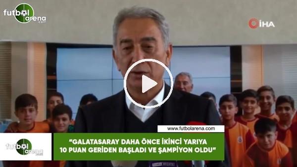 """'Adnan Polat: """"Galatasaray daha önce ikinci yarıya 10 puan geriden başladı ve şampiyon oldu"""""""