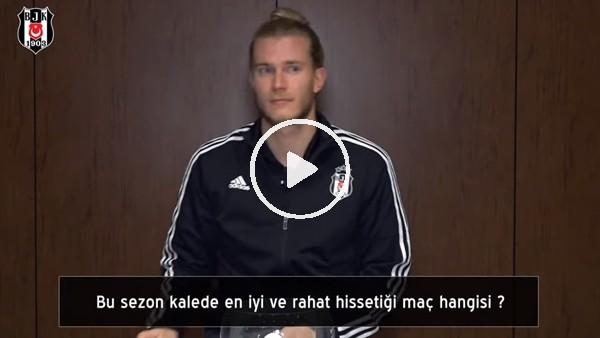 Loris Karius, Beşiktaş taraftarından gelen soruları yanıtladı