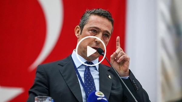 'Ali Koç'tan transfer açıklaması
