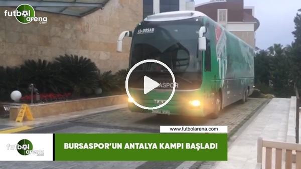 'Bursaspor'un Antalya kampı başladı